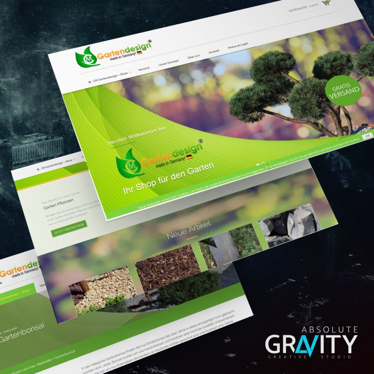 Onlineshop CM-Gartendesign